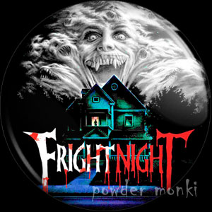 Fright Night - Retro Movie Badge/Magnet