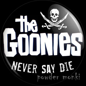 Goonies - Retro Movie Badge/Magnet [Logo]