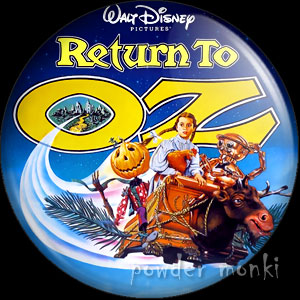 Return To Oz - Retro Movie Badge/Magnet
