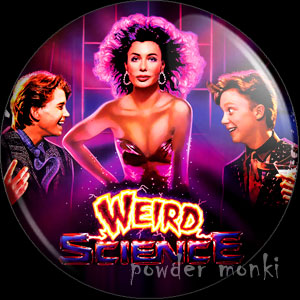 Weird Science - Retro Movie Badge/Magnet