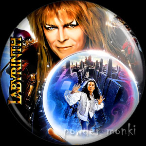 Labyrinth - Retro Movie Badge/Magnet