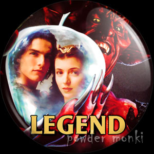 Legend - Retro Movie Badge/Magnet