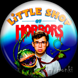 Little Shop Of Horrors - Retro Movie Badge/Magnet