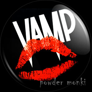 Vamp - Retro Movie Badge/Magnet [Grace Jones]
