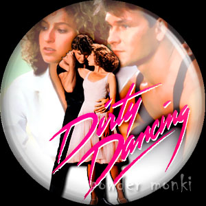 Dirty Dancing - Retro Movie Badge/Magnet