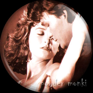 Dirty Dancing - Retro Movie Badge/Magnet (2)