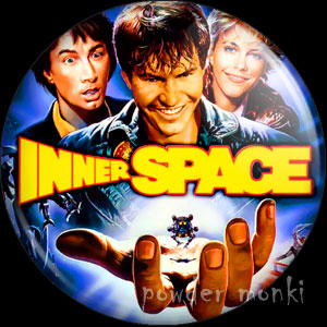 Inner Space - Retro Movie Badge/Magnet
