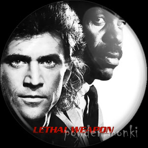 Lethal Weapon - Retro Movie Badge/Magnet
