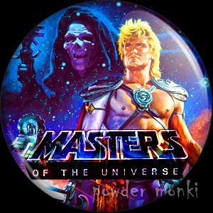 Master Of The Universe - Retro Movie Badge/Magnet