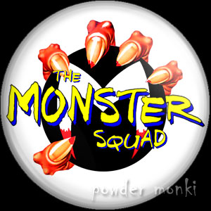 Monster Squad - Retro Movie Badge/Magnet