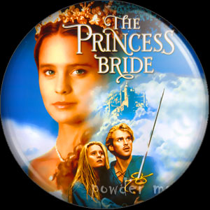 Princess Bride - Retro Movie Badge/Magnet