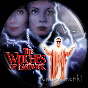 Witches of Eastwick - Retro Movie Badge/Magnet