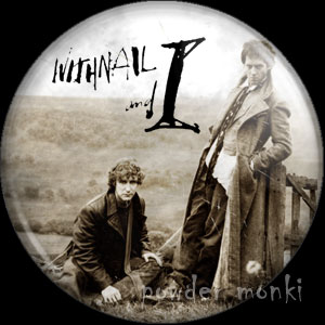 Withnail & I - Retro Movie Badge/Magnet