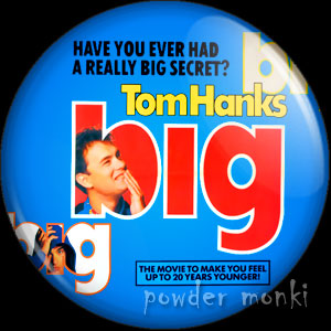 Big - Retro Movie Badge/Magnet
