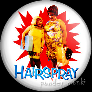 Hairspray - Retro Movie Badge/Magnet