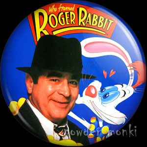 Who Framed Roger Rabbit? - Retro Movie Badge/Magnet
