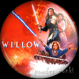 Willow - Retro Movie Badge/Magnet