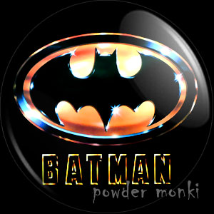 Batman - Retro Movie Badge/Magnet