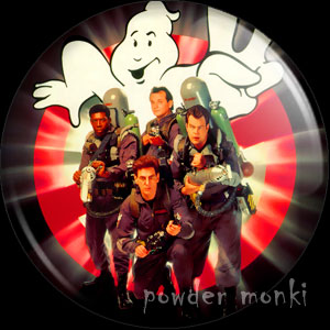 Ghostbusters II - Retro Movie Badge/Magnet (group)