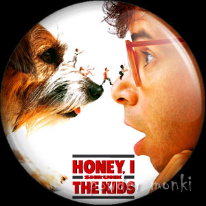 Honey I Shrunk The Kids - Retro Movie Badge/Magnet