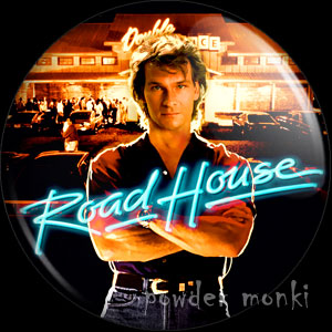 Road House - Retro Movie Badge/Magnet