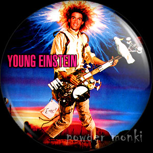 Young Einstein - Retro Movie Badge/Magnet