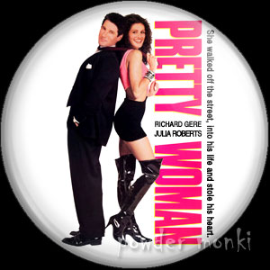 Pretty Woman - Retro Movie Badge/Magnet