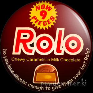 Rolo - Retro Sweets Badge/Magnet