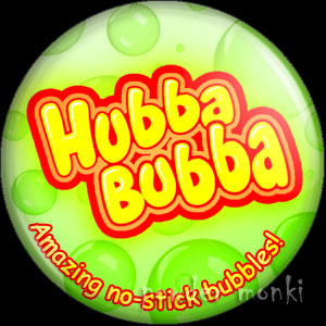 Hubba Bubba - Retro Sweets Badge/Magnet