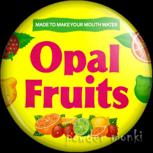 Opal Fruits - Retro Sweets Badge/Magnet