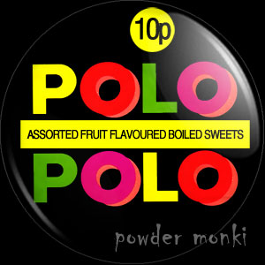 Fruit Polo - Retro Sweets Badge/Magnet