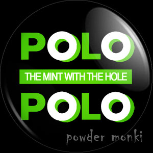 Polo - Retro Sweets Badge/Magnet