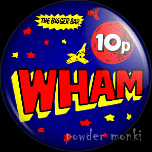 Wham! - Retro Sweets Badge/Magnet