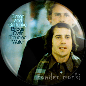 "Simon & Garfunkel ""Bridge Over Troubled Water"" - Badge/Magnet"