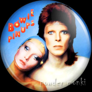 "David Bowie ""Pin Ups"" - Retro Music Badge/Magnet"