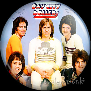 "Bay City Rollers ""Rollin'"" - Retro Music Badge/Magnet"