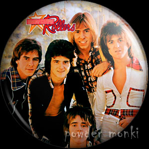 "Bay City Rollers ""Wouldn't You Like It""-Retro Music Badge/Magnet"