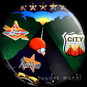 "Bay City Rollers ""'Once Upon A Star"" - Retro Music Badge/Magnet"