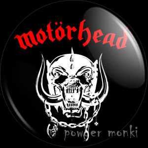 "Motorhead ""Motorhead"" - Retro Music Badge/Magnet"