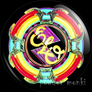 "ELO ""A New World Record"" - Retro Music Badge/Magnet"