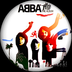 "ABBA ""The Album"" - Retro Music Badge/Magnet"