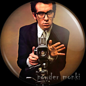"Elvis Costello ""This Year's Model"" - Retro Music Badge/Magnet"