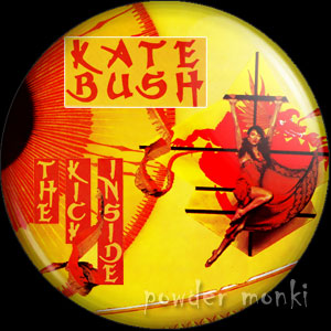 "Kate Bush ""The Kick Inside"" - Retro Music Badge/Magnet"