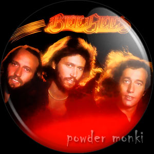 "Bee Gees ""Spirits Having Flown"" - Retro Music Badge/Magnet"