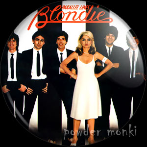 "Blondie ""Parallel Lines"" - Retro Music Badge/Magnet"