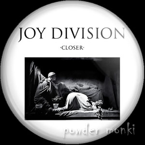 "Joy Division ""Closer"" - Album Cover Badge/Magnet"