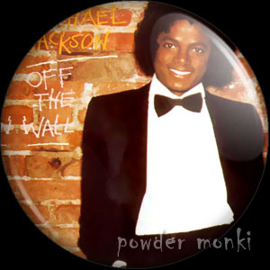 "Michael Jackson ""Off The Wall"" - Album Cover Badge/Magnet"