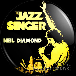 "Neil Diamond ""The Jazz Singer"" - Album Cover Badge/Magnet"