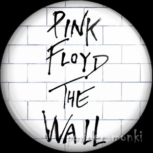 "Pink Floyd ""The Wall"" - Retro Music Badge/Magnet"
