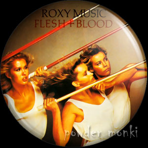 "Roxy Music ""Flesh And Blood"" - Album Cover Badge/Magnet"